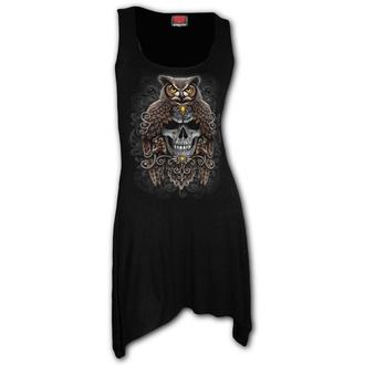 Ženska obleka SPIRAL - DEATH WISDOM - Črna, SPIRAL