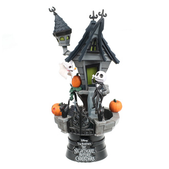 Figura Nightmare Before Christmas - Jack's Haunted House, NNM, Nightmare Before Christmas