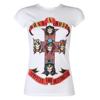 Ženska metal majica Guns N' Roses - Appetite For Destruction - ROCK OFF, ROCK OFF, Guns N' Roses