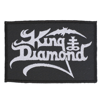 Našitek King Diamond - Logo - RAZAMATAZ, RAZAMATAZ, King Diamond