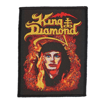 Našitek King Diamond - Fatal Portrait - RAZAMATAZ, RAZAMATAZ, King Diamond