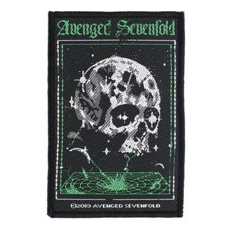 Našitek Avenged Sevenfold - Vortex Skull - RAZAMATAZ, RAZAMATAZ, Avenged Sevenfold