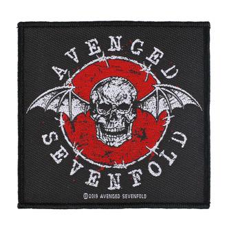 Našitek Avenged Sevenfold - Distressed Skull - RAZAMATAZ, RAZAMATAZ, Avenged Sevenfold