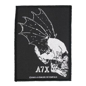 Našitek Avenged Sevenfold - Skull Profile - RAZAMATAZ, RAZAMATAZ, Avenged Sevenfold
