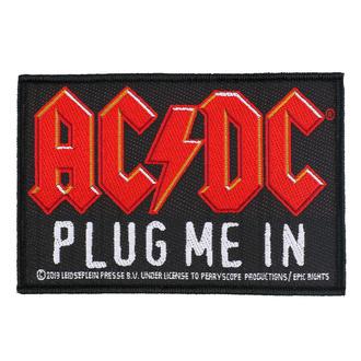Našitek AC / DC - Plug Me In - RAZAMATAZ, RAZAMATAZ, AC-DC