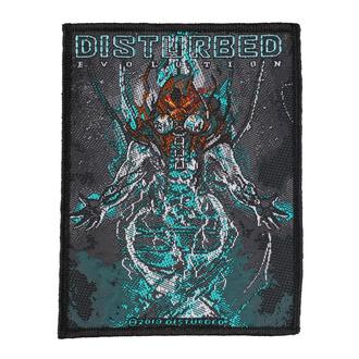 Našitek Disturbed - Evolution Hooded - RAZAMATAZ, RAZAMATAZ, Disturbed