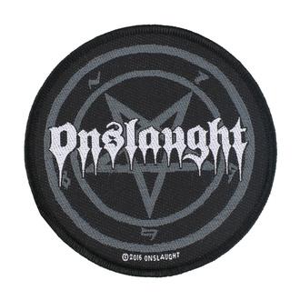 Našitek Onslaught - Pentagram - RAZAMATAZ, RAZAMATAZ, Onslaught