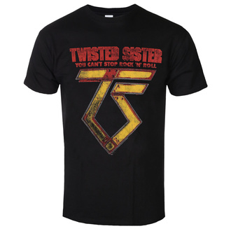 Moška metal majica Twisted Sister - You can't stop Rock ´n´ Roll - LOW FREQUENCY, LOW FREQUENCY, Twisted Sister