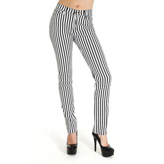 hlače (unisex) 3RDAND56th - Striped Skinny - Črno / Bela, 3RDAND56th