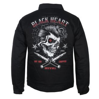 Moška jakna BLACK HEART - DENY BOY - ČRNA, BLACK HEART