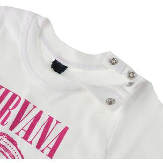 Otroška metal majica Nirvana - Vestibule Toddler - WHT - ROCK OFF, ROCK OFF, Nirvana