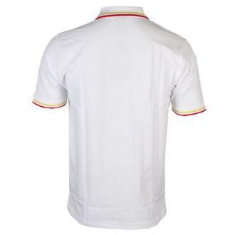 Moška majica David Bowie - Flash - Logo Uni - WHT Polo - ROCK OFF, ROCK OFF, David Bowie