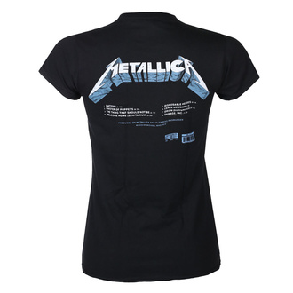Ženska majica METALLICA - MASTER OF PUPPETS - TRACKS - ČRNA - PLASTIC HEAD, PLASTIC HEAD, Metallica