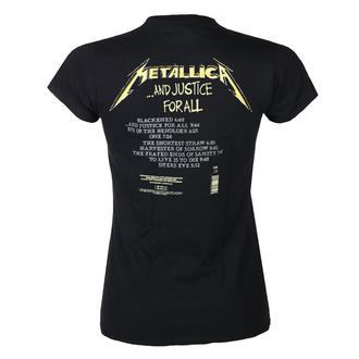 Ženska majica METALLICA - AND JUSTICE FOR ALL TRACKS - ČRNA - PLASTIC HEAD, PLASTIC HEAD, Metallica