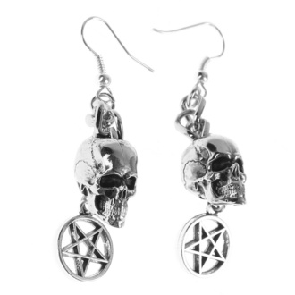 Uhani Skull / Pentagram, FALON