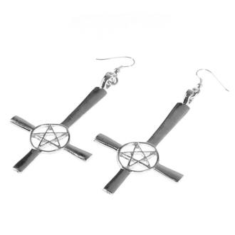 Uhani Cross / Pentagram, FALON