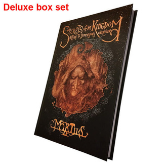 Knjiga (darilni set) Mortiis: Secrets Of My Kingdom (Podpisan boxset deluxe), CULT NEVER DIE, Mortiis