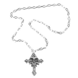 Ogrlica Skull / cross, FALON