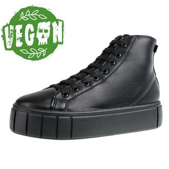 Ženski škornji ALTERCORE - 8-eye boot - Felto Black, ALTERCORE