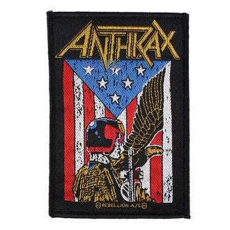 Našitek Anthrax - Judge Dredd - RAZAMATAZ, RAZAMATAZ, Anthrax