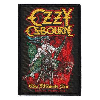 Našitek Ozzy Osboume - The Ultimate Sin - RAZAMATAZ, RAZAMATAZ, Ozzy Osbourne