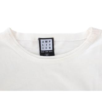 Moška majica RAMONES - TIE DYE SHIELD - VINTAGE WHITE - AMPLIFIED, AMPLIFIED, Ramones