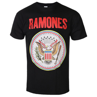 Moška majica Ramones - Full Colour Seal - ROCK OFF, ROCK OFF, Ramones