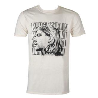 Moška majica Kurt Cobain - Contrast Profile - ROCK OFF, ROCK OFF, Nirvana
