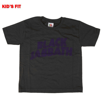 Otroška majica Black Sabbath - Wavy Logo - ROCK OFF, ROCK OFF, Black Sabbath