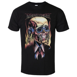 Moška majica Megadeth - Flaming - ROCK OFF, ROCK OFF, Megadeth