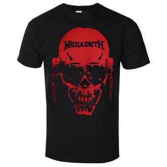 Moška majica Megadeth - Contrast Red - ROCK OFF, ROCK OFF, Megadeth