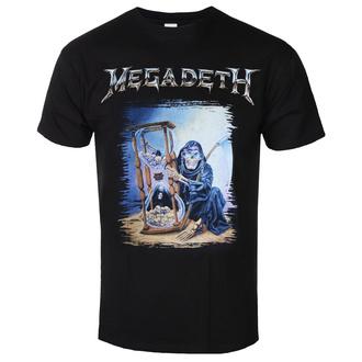 Moška majica Megadeth - Countdown Hourglass - ROCK OFF, ROCK OFF, Megadeth