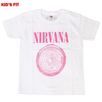 Otroška majica Nirvana - Vestibule - WHT - ROCK OFF, ROCK OFF, Nirvana