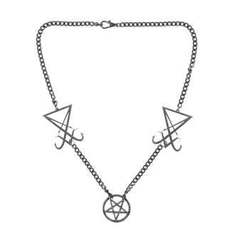 Ogrlica Luciferi, Leather & Steel Fashion