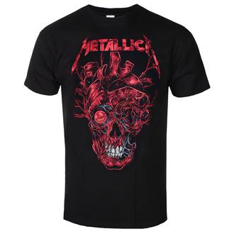 Moška majica Metallica - Heart Skull - ROCK OFF, ROCK OFF, Metallica