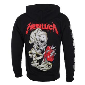 Moški hoodie Metallica - Heart Explosive, ROCK OFF, Metallica