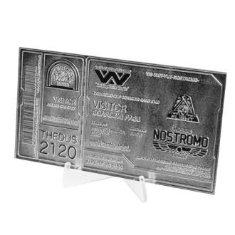 Dekoracija Alien - Replica Nostromo Kartica Limited Edition (srebrno prevlečena), NNM, Osmi potnik