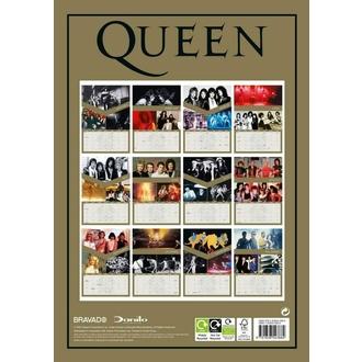 2021 koledar - QUEEN, NNM, Queen