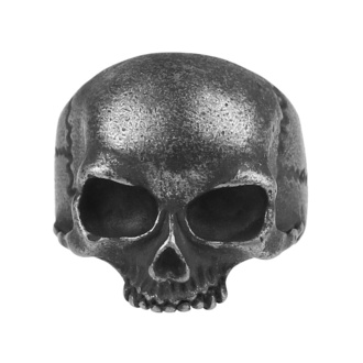 Prstan ETNOX - Gun Metal Skull, ETNOX