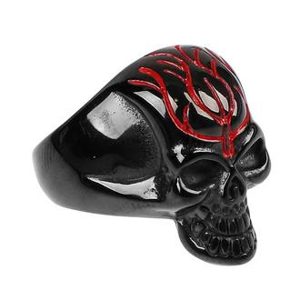 Prstan ETNOX - Black Skull, ETNOX