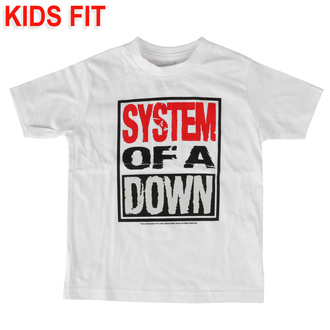Otroška majica System of a Down - Logo - Metal-Kids, Metal-Kids, System of a Down