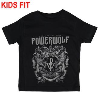 Otroška majica Powerwolf - Crest - Metal-Kids - 583-25-8-999