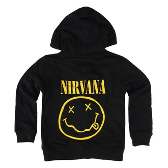 Otroški hoodie Nirvana - Smiley - Metal-Kids - 541.39.8.9