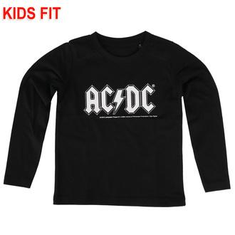 Otroška majica z dolgimi rokavi AC / DC - Logo - Metal-Kids, Metal-Kids, AC-DC