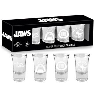Kozarci za žganje (set) jaws - Logo & Symbols, NNM, Žrelo