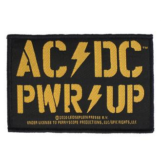 Našitek AC / DC - POWER UP - RAZAMATAZ, RAZAMATAZ, AC-DC