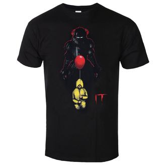 Moška majica IT- (2017) Pennywise Shadow - Črna, BIL