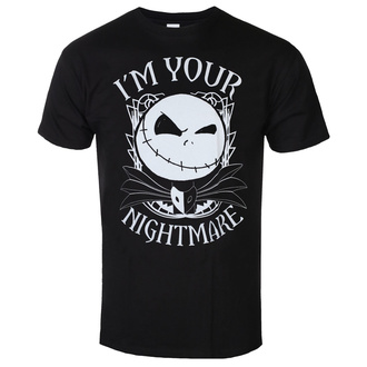 Mošky majica Nightmare Before Christmas - I'm Your Nightmare - Črna, BIL, Nightmare Before Christmas