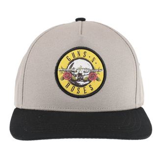 Kapa Guns N' Roses - Circle Logo - SAND / BL - ROCK OFF, ROCK OFF, Guns N' Roses