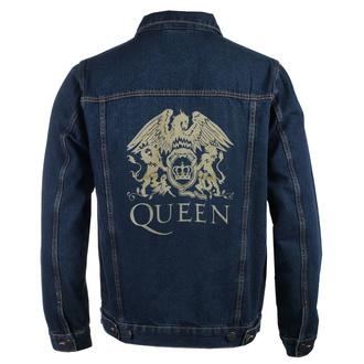 Moška jakna Queen - Classic - DENIM - ROCK OFF, ROCK OFF, Queen